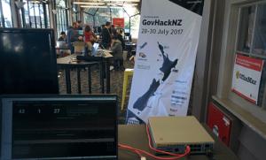 WE LOVE OSS! 〜GovHack HamiltonでFaucetとともにネットワーク環境をサポート!