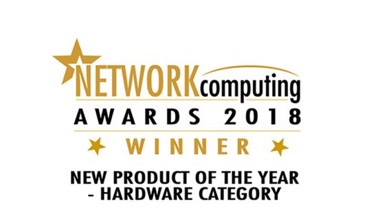 『SwitchBlade x908 Gen2』がNetwork Computing Awards 2018のハードウェア部門で最優秀賞を受賞しました!