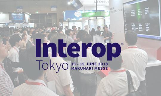 Interop Tokyo 2018に出展!