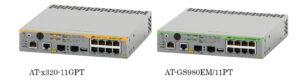 スイッチ製品「AT-x320-11GPT」「AT-GS980EM/11PT」